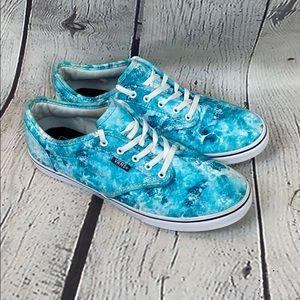 Vans Ocean Blue Canvas Sneakers